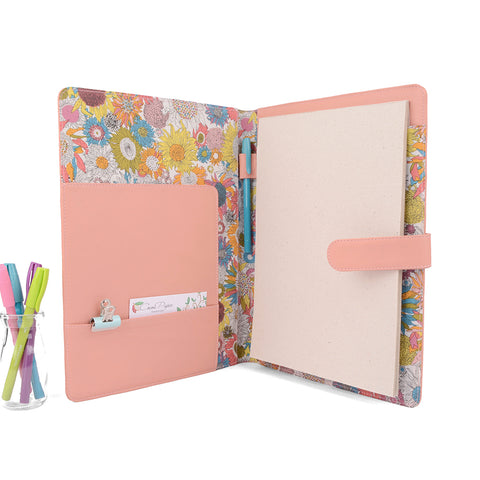 A4 / Full Size  Fabric Lined PadFolio