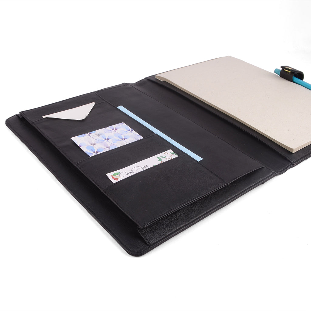 OXFORD- A4 PadFolio with Snap Closure