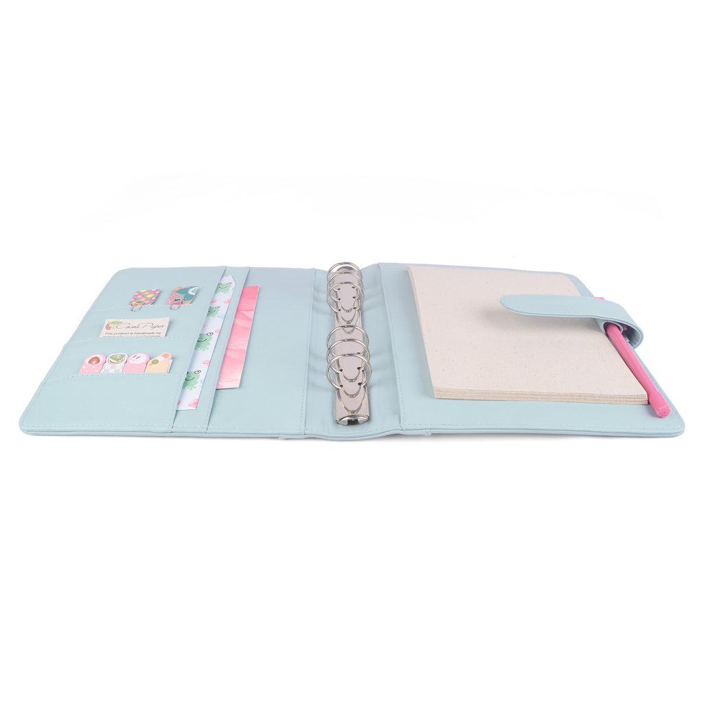 DAWN- A5 Leather Ring Binder Planner