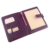 Purple A5 Leather PadFolio by CocoaPaper