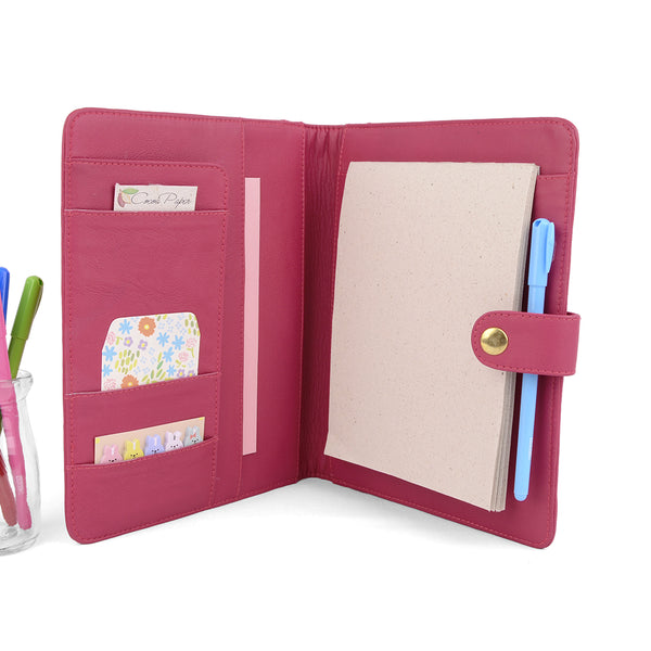 STUD- A5 / Half Size PadFolio with Snap Closure