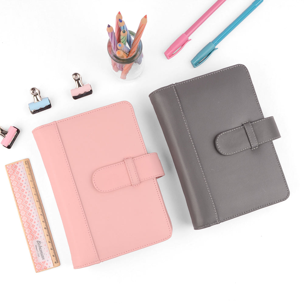 Chic- A6 Leather Personal Planner