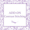 Add On- Contrast Stitching