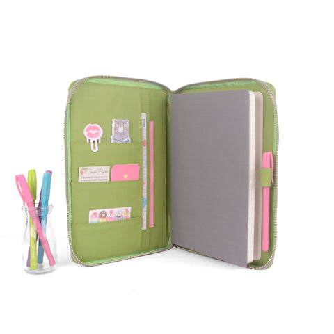 BOLD- Zippered Cover for B5 Thread-bound / Book Bound Journals