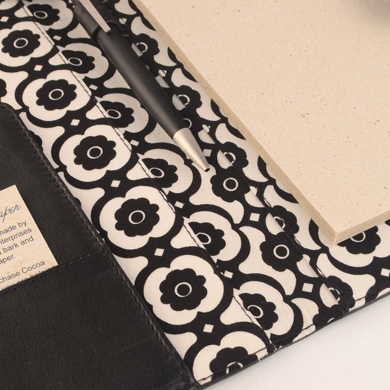 A5 Fabric Lined PadFolio