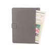 Grey A5 STUD Leather PadFolio by CocoaPaper