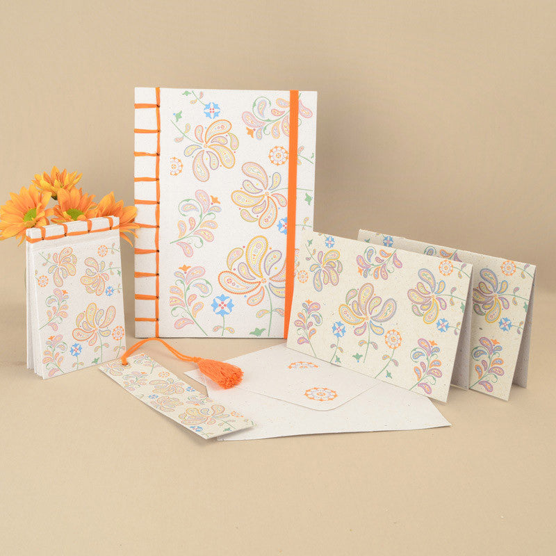 Hand Stitched Stationery Set