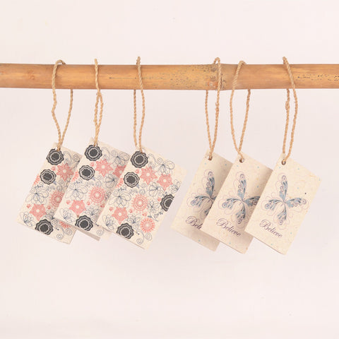 Hang Tags- pack of 6