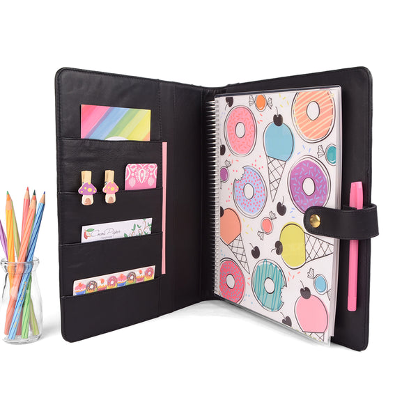GEM- Large Planner Cover for Coil Bound / Discbound Planners