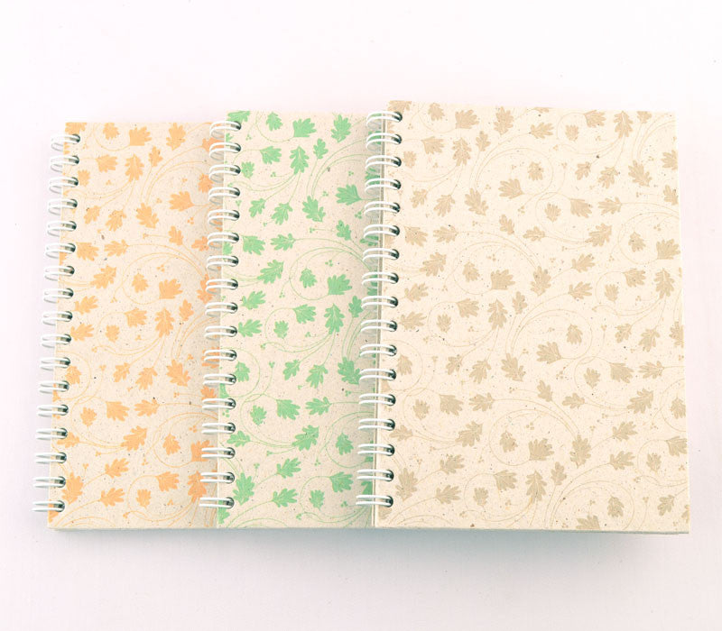 Set of 3 Note Books - Multi Color Patterns (Medium)