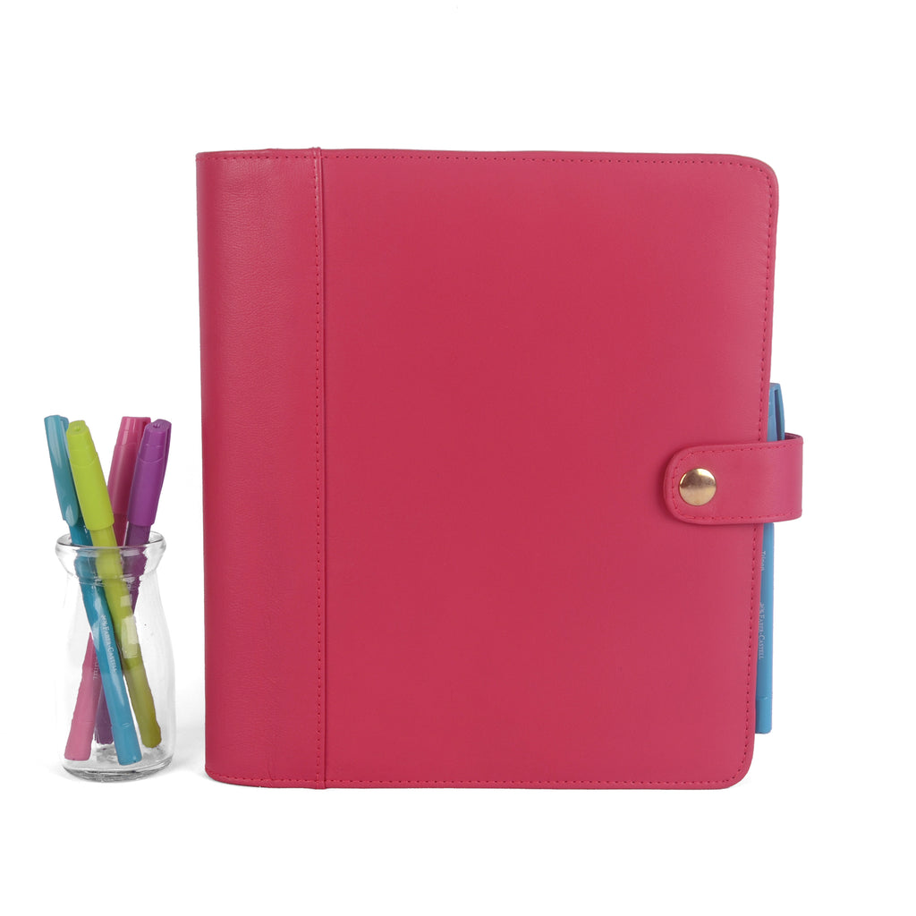 Hot Pink Leather- Limited Edition!