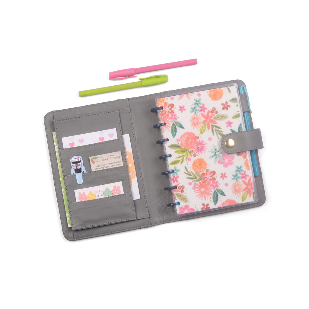JANE- Mini Planner Cover for Coil Bound / Discbound Planners