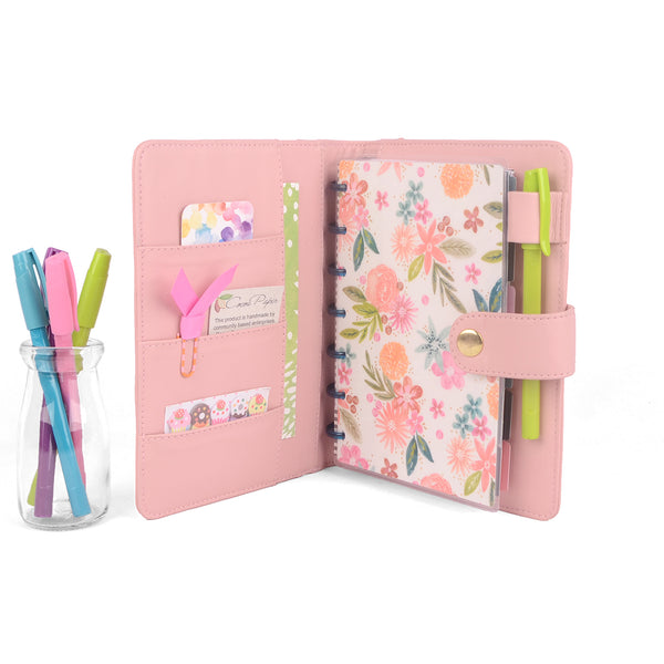 JOY- Mini Planner Cover for Coil Bound / Discbound Planners