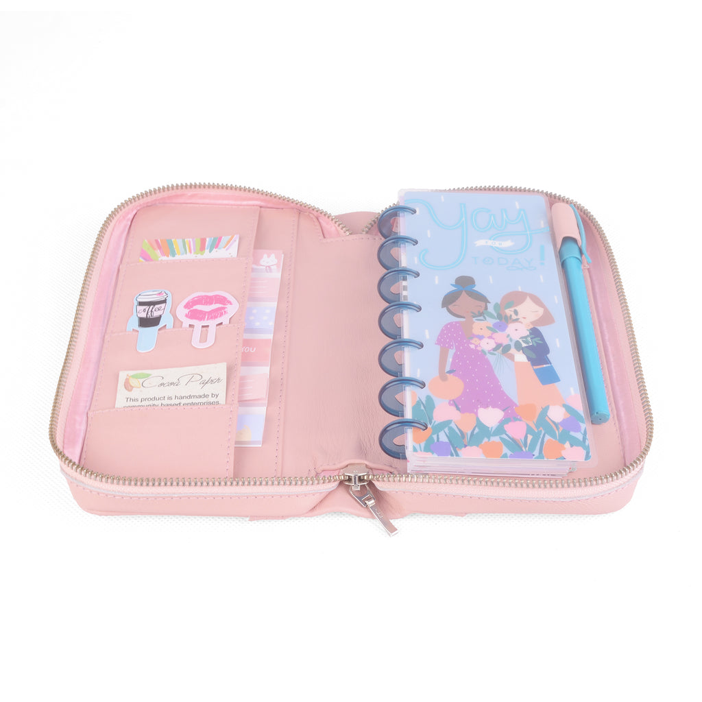 JADE- Zippered Cover for Happy Planner® SKINNY MINI