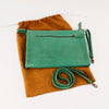 Classic Tablet or Clutch Bag- Green