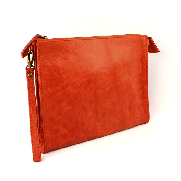 Classic Tablet or Clutch Bag- Red