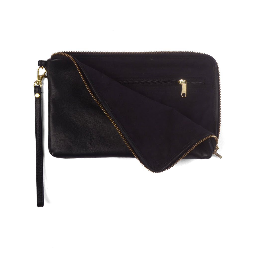 PETRA- Leather Wallet Clutch Bag