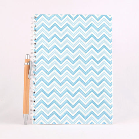 Spiral Bound Note Book - Pattern Designs (A5 Large)