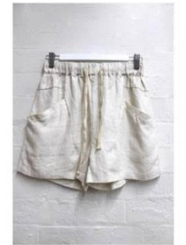 Luxe Shorts - Cream