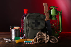 disaster preparation bag