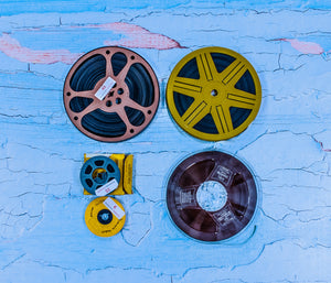 film and audio reels