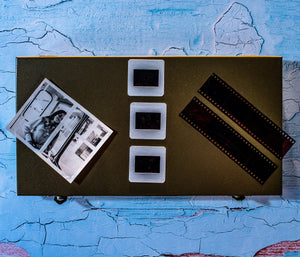 35mm negatives and loose slides as well as loose photos are part of our Photography packages.