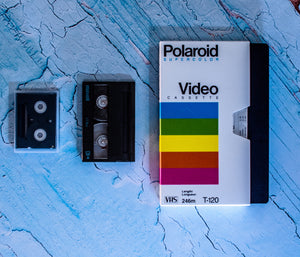 Video tapes.