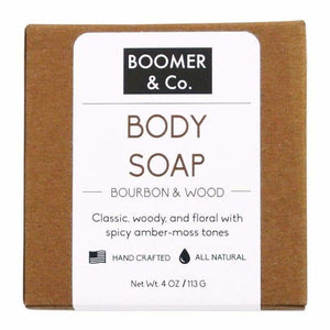 Punky Bourbon & Sandalwood Soap Bar