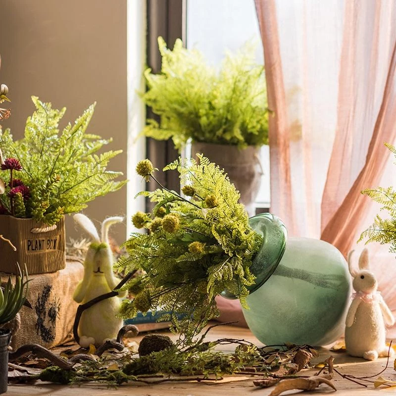 The Art Of Decorating With Artificial Plants – Easy Carefree Decor Ideas