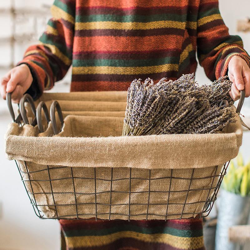 Use Baskets as Containers at Your House