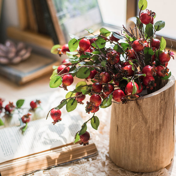Red Pomegranate artificial fruits