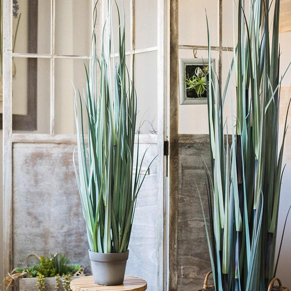 Artificial Bamboo Grass Potted Plant