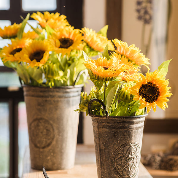 Yellow daisy sunflowers artificial flower