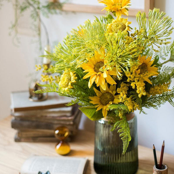 Country Spring Sunflower Bouquet