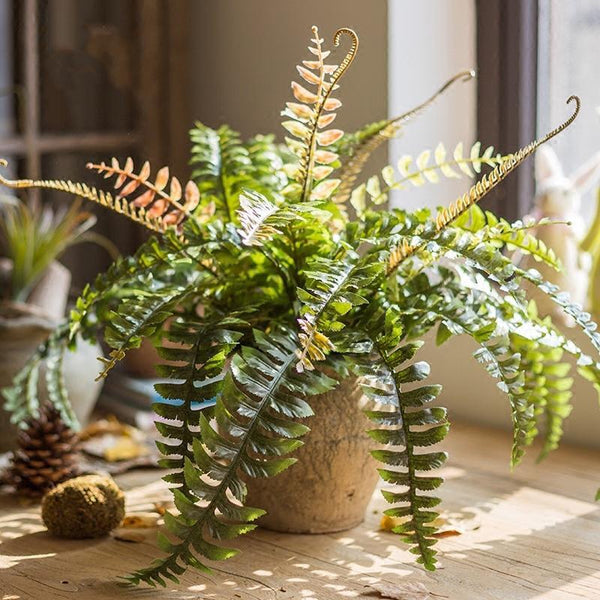 Artificial Plant Big Rock Fern