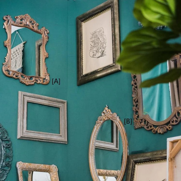 Decorative Mirror French Palace Style Carving Frame Wall Mirror
