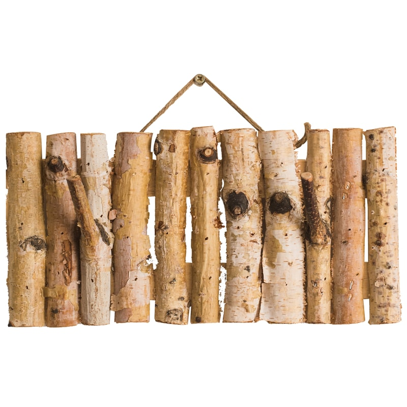 Birch Wood Country Wall Hook