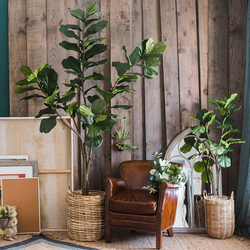 Artificial Tree Fiddle Leaf Tree