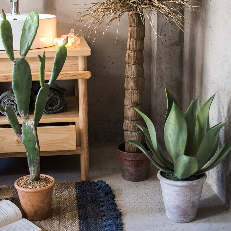 Artificial Large Potted Agave Plant 22.8""