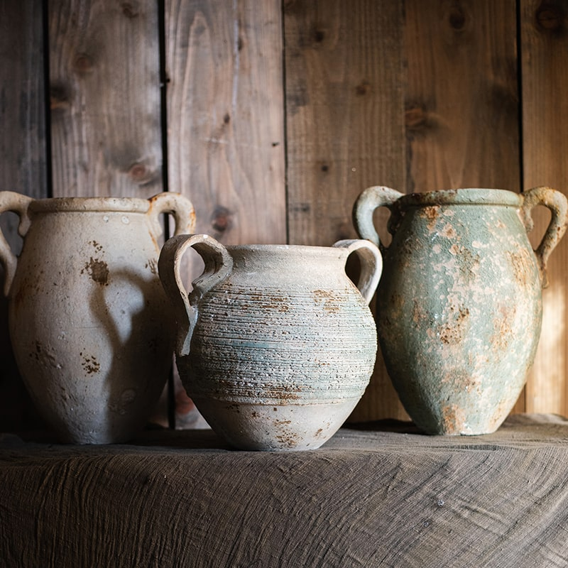 Restoration Ancient Jar in Different Styles