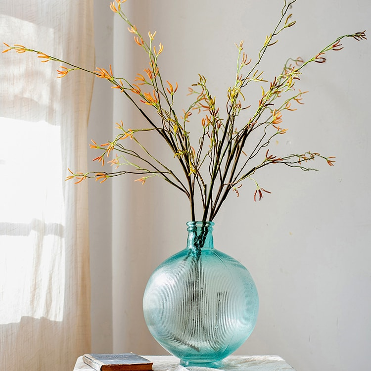 "Artificial Japanese Zen Style Sedge Stem 51.9"" Tall"