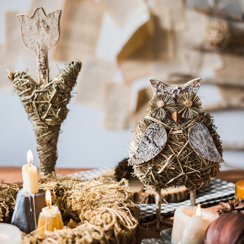 Christmas Rustic Figurine Decorations