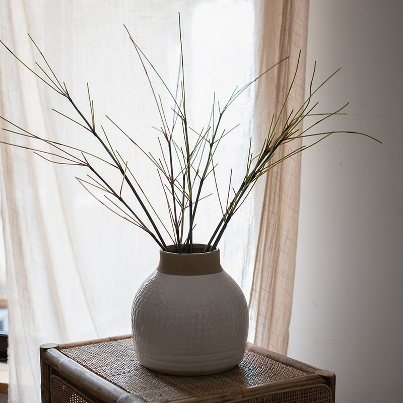 "Artificial Zen Style Bamboo Stem 30"" Tall"