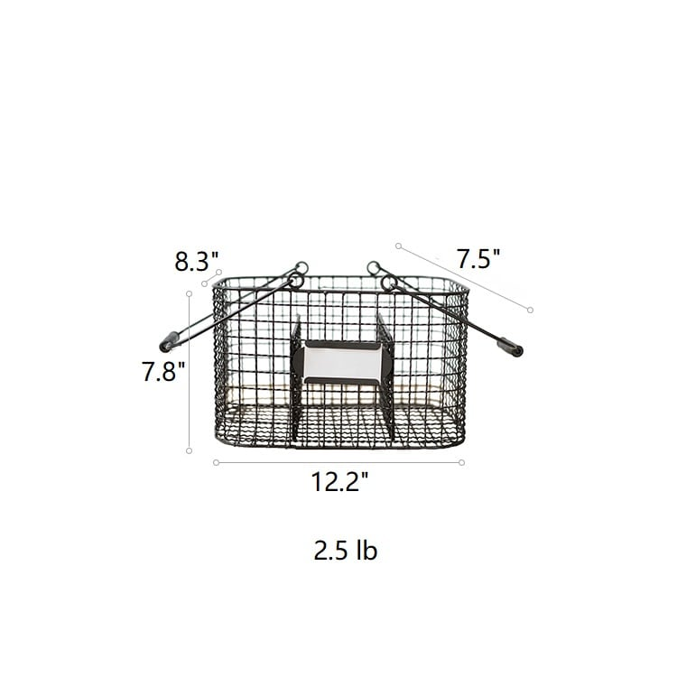 Zakka Multifunctional Wire Organizer Basket