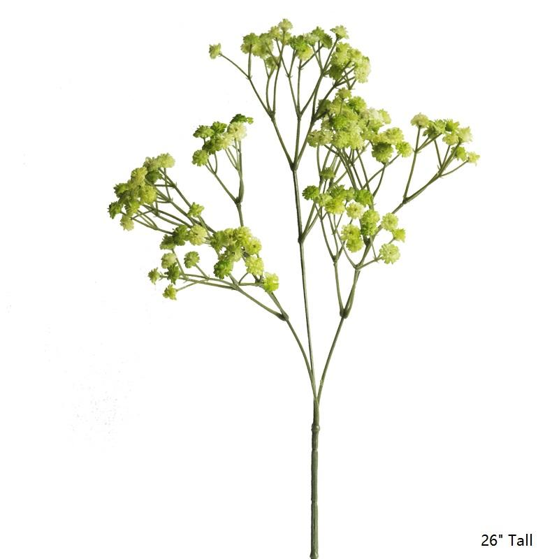 "Artificial Baby's-Breath Flower Stem 26"" Tall RusticReach"