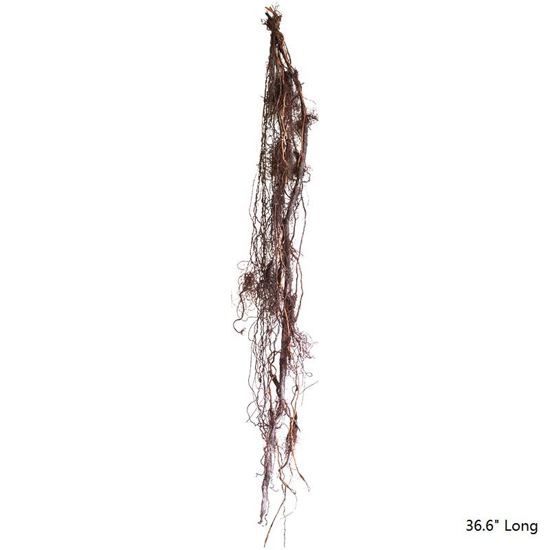 "Artificial Banyan Tree Roots Vine 37"" Long RusticReach"