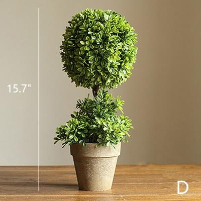 Artificial Boxwood Topiary in Various Designs RusticReach