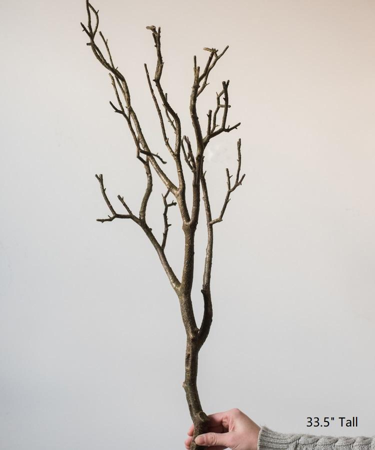 "Artificial Dry Twig Stem 33"" Tall RusticReach"