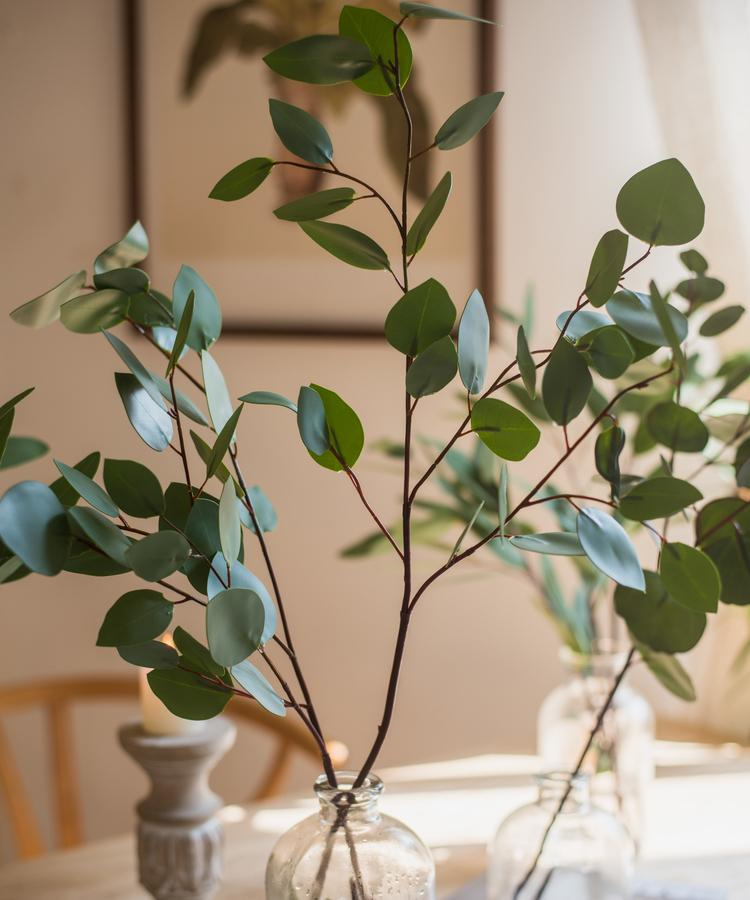 Artificial Eucalyptus Leaf in Various Shapes RusticReach