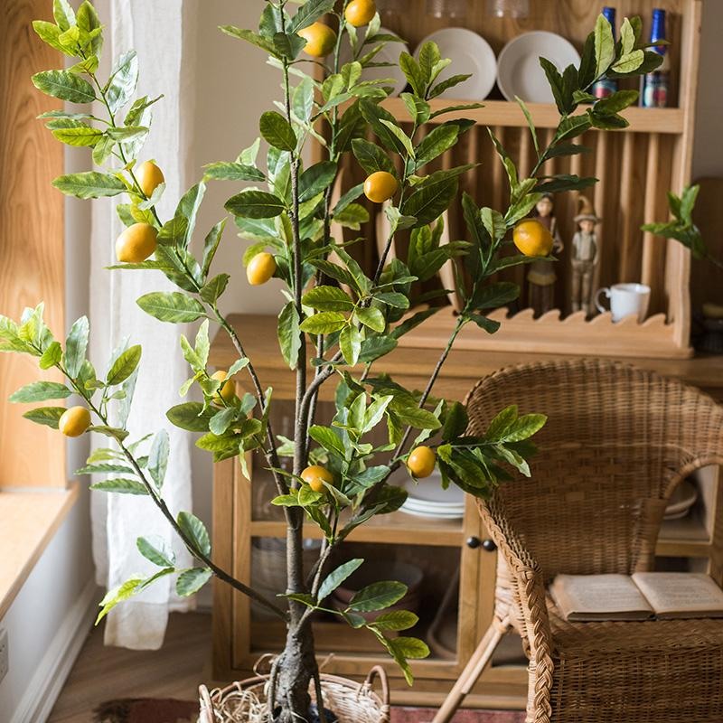 Artificial Lemon Tree RusticReach